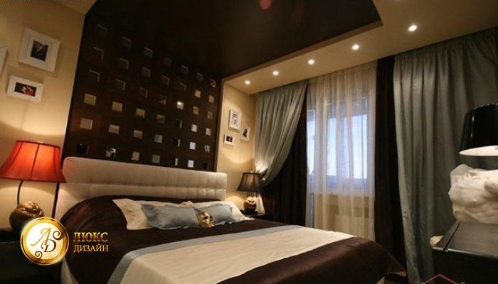 Фото дизайна интерьера спальни в хрущёвке